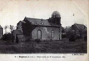 Edmond Modeste Lescarbault - The observatory of Edmond Modeste Lescarbault