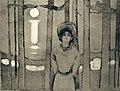 Edvard Munch. Summer Night. The Voice (Sommernatt. Stemmen) 1894-95 (24914477502).jpg