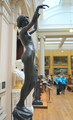 Edward Onslow Ford (1852-1901) - Echo (1895) right, Lady Lever Art Gallery, June 2013 (9097487896).png