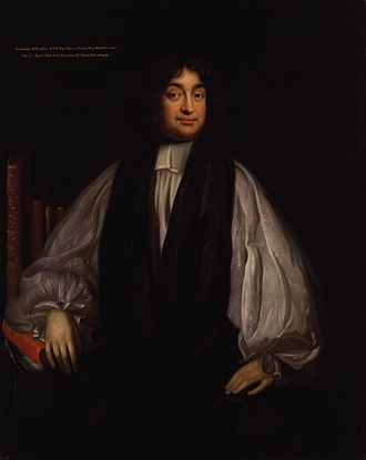 Edward Stillingfleet - Portrait of Bishop Stillingfleet by Mary Beale, circa 1690