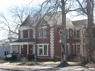 National Register of Historic Places listings in Calloway County, Kentucky - Image: Edwin Diuguid House