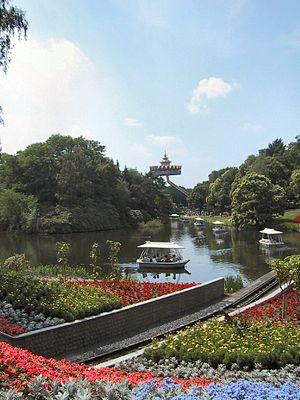 Pagoda (Efteling) - Image: Efteling bootjes pagoda