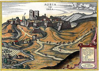 Siege of Eger (1552) - Eger Castle in the 16th century
