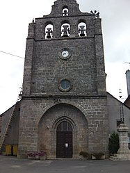 The church in Saint-Germain-du-Teil