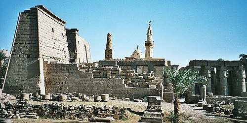 Thebes (Luxor Temple pictured) was the capital of many of the Dynasty XVI pharaohs. Egypt.LuxorTemple.06.jpg