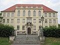 Eingang der ehemaligen Leuchtbergschule (Lyzeum) und heutigen Brüder-Grimm-Schule - Eschwege Seminarstraße1-3 - panoramio.jpg