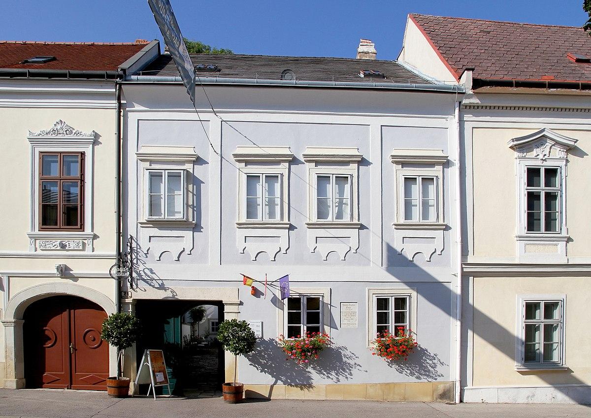 Haydn haus eisenstadt wikipedia for Haus foto