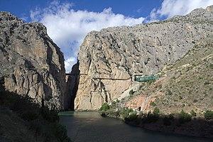 El Chorro - El Chorro: Entrance to Gaitanes Gorge