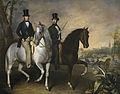 El conde de Pinohermoso y el marqués de Molins a caballo en las afueras de Sevilla (Museo del Prado).jpg