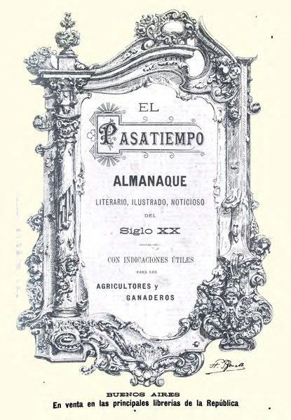 File:El pasatiempo. almanaque literario, ilustrado. noticioso 1891.pdf