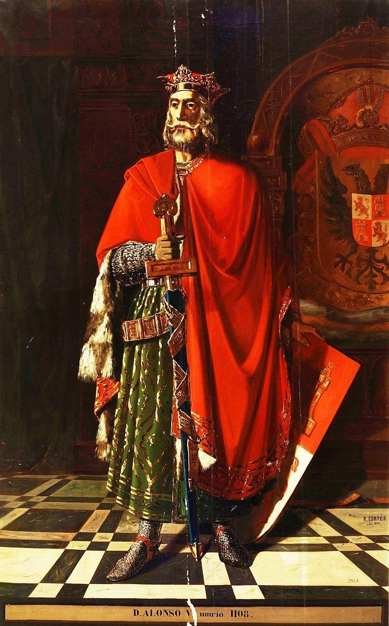 Эль-Рей Альфонсо VI де Леон (Музей Прадо) .jpg