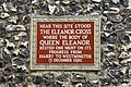 Eleanor Cross Plaque - geograph.org.uk - 567461.jpg