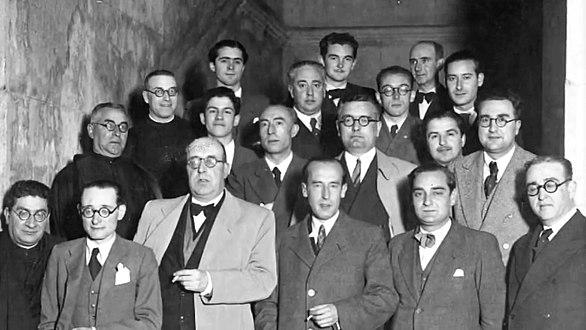 Elección de Otero Pedrayo como presidente do SEG, 30 de maio de 1936