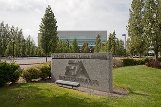 Electronic Arts - The EA headquarters building at Redwood City, California in May 2011.