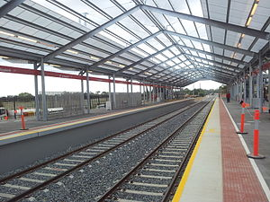 Elizabeth railway station - Image: Elizabeth Train Station 02042012