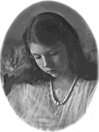 Elizabeth Wade White - Elizabeth Wade White at age 18 in 1924 at Westover School