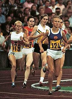 Karin Krebs East German middle-distance runner