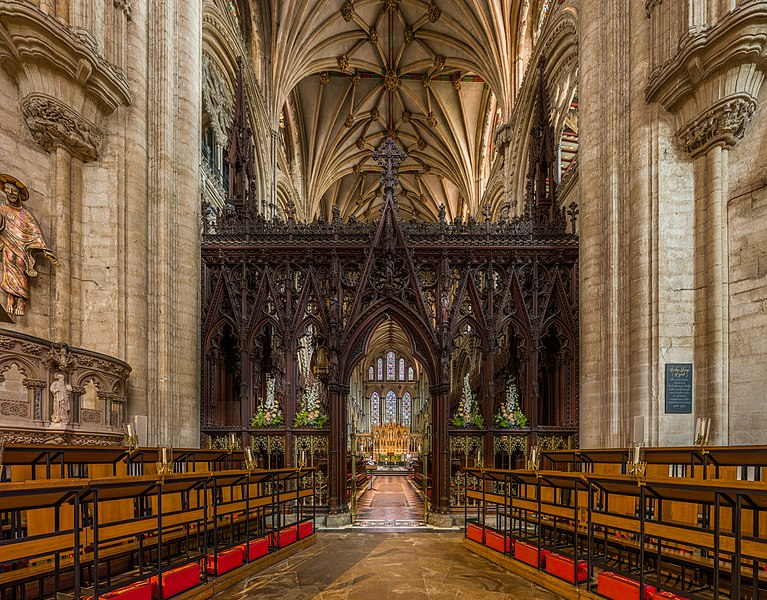 پرونده:Ely Cathedral Rood Screen, Cambridgeshire, UK - Diliff.jpg