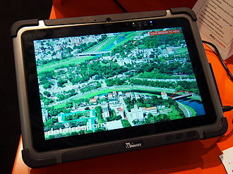 Rugged computer - A rugged computing tablet