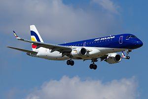 Air Moldova - Air Moldova Embraer E-190