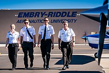 Embry-Riddle Aeronautical University Prescott's Flightline Pilots.jpg