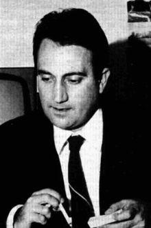 Emilio Fede nel 1965.