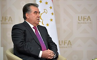 President of Tajikistan - Image: Emomali Rahmon, BRICS summit 2015