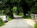 Entering Suffolk on Pentlow Road (geograph 4035933).jpg