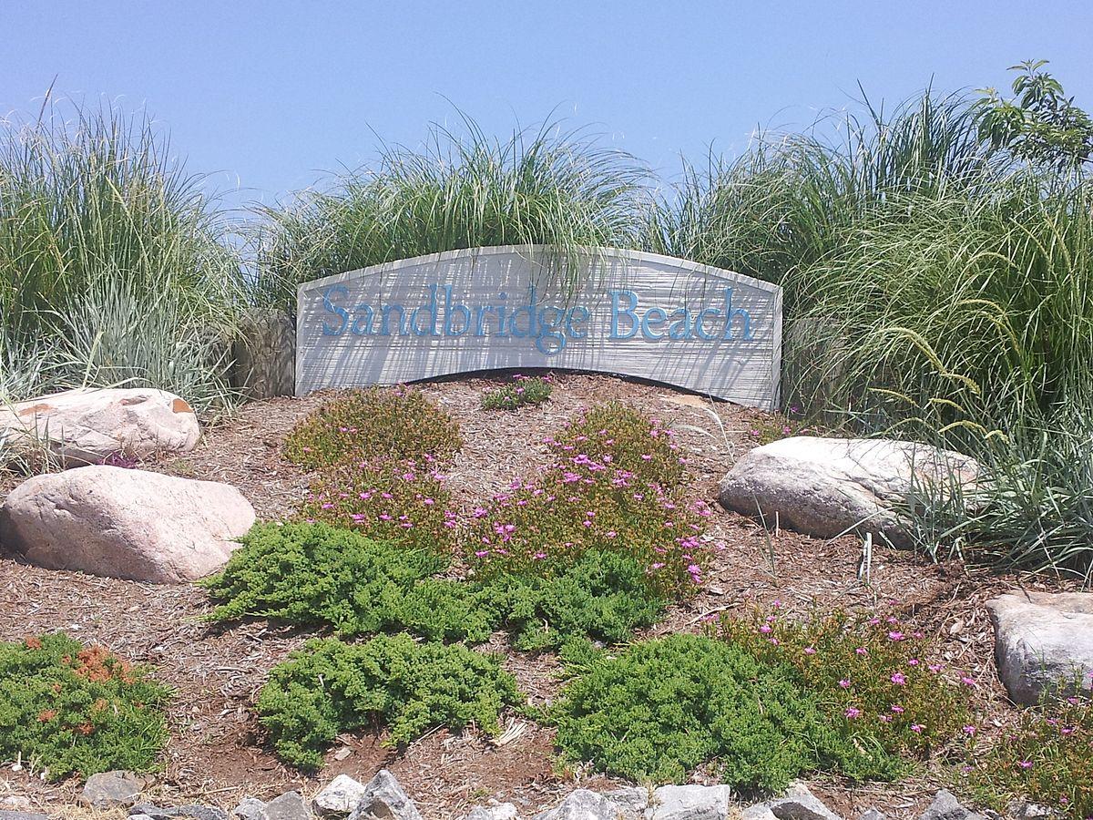 File Entrance To Sandbridge Beach Jpg