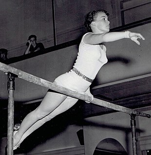 Ernestine Russell Canadian gymnast, Olympic athlete, American college gymnastics coach