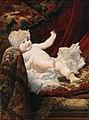 Ernst Klimt - Portrait of a baby with lace bonnet.jpg