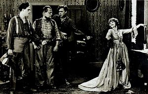 Bradley Barker - Anders Randolf, Bradley Barker, Georges Renavent, and Mary Alden in Erstwhile Susan (1919)