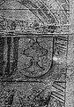 Escudo da Galiza nas antigas vidreiras sobre Carlos V da catedral de Mechelen (1516-1521).jpg