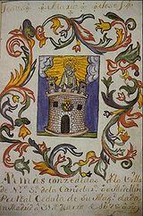 Escudo de Armas de Medellín del año 1678
