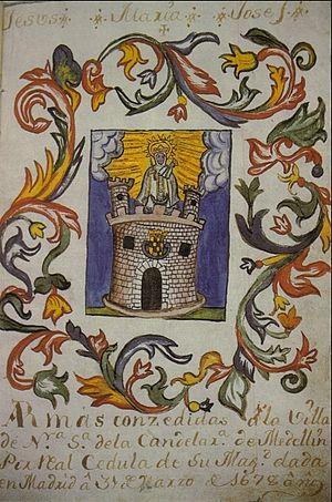 Escudo de armas de medellin-1678