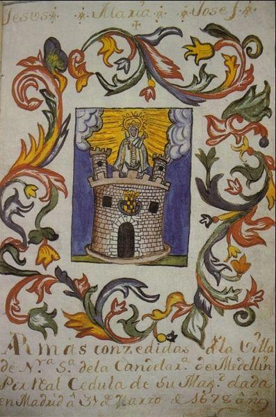 escudos de las ciudades: