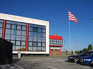 Sporting de Gijón - The club headquarters, in Mareo