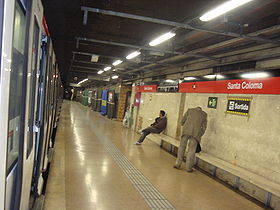 Image illustrative de l'article Santa Coloma (métro de Barcelone)