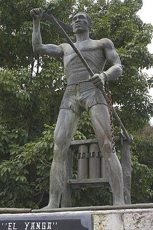 Afro-Mexicans - Statue of Gaspar Yanga in Yanga, Veracruz