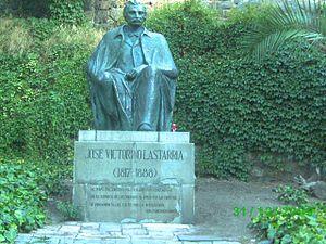 José Victorino Lastarria - Statue of José Victorino Lastarria on Santa Lucía Hill