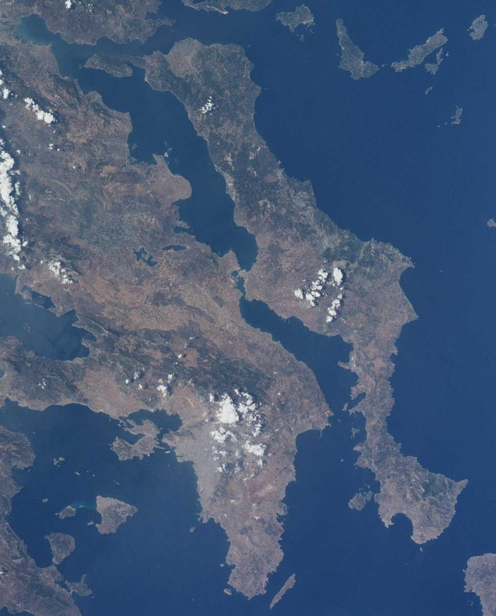 Euboea from space