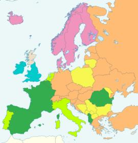 Subgroups in Europe