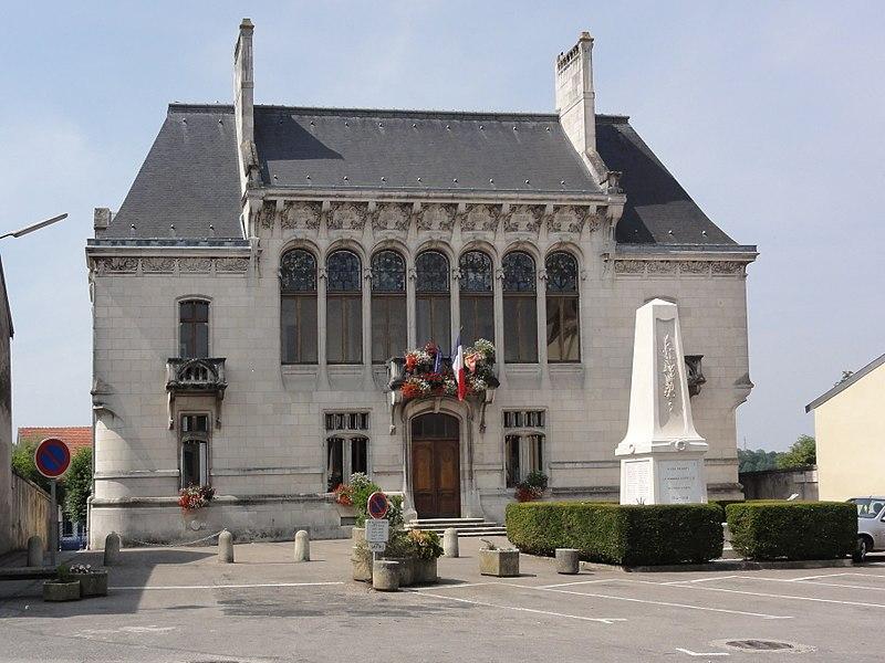 Euville (Meuse) mairie