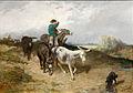 Evariste-Vital Luminais - Le jeune conducteur d'âne.jpg