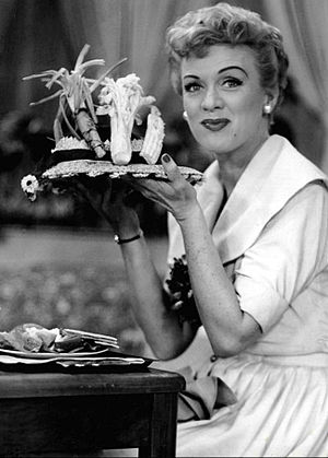 Our Miss Brooks - Connie said she would eat her hat if Boynton took her out and paid the whole tab.  When he did, she prepared to do that.