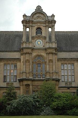 The Examination Schools (exam halls) at Oxford.