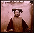 Example of a coiffure on a Tartar or Manchu female Wellcome L0031044.jpg