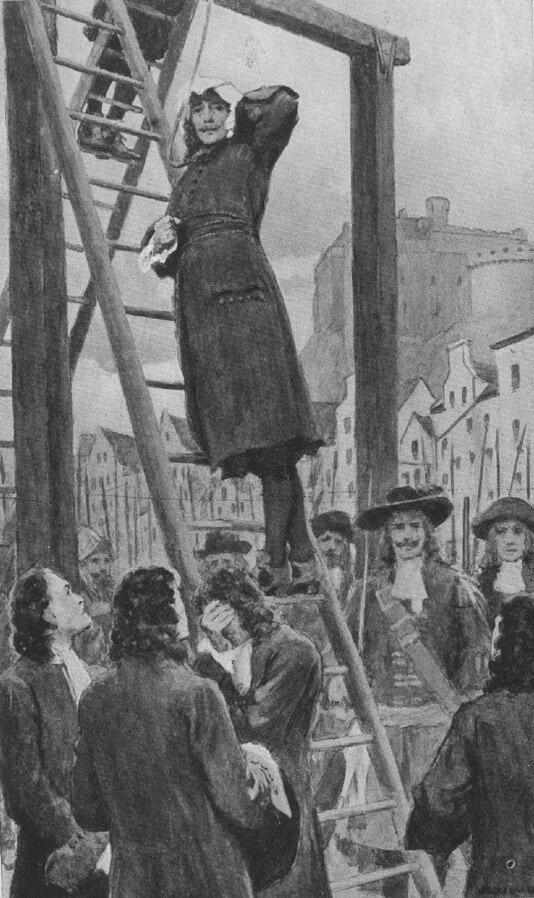 Execution of the Rev. James Guthrie, Edinburgh 1661