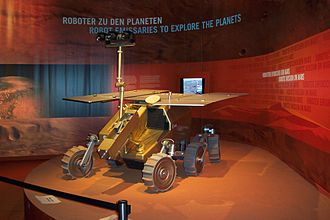 Aurora programme - ExoMars rover model.(for the 2020 launch)
