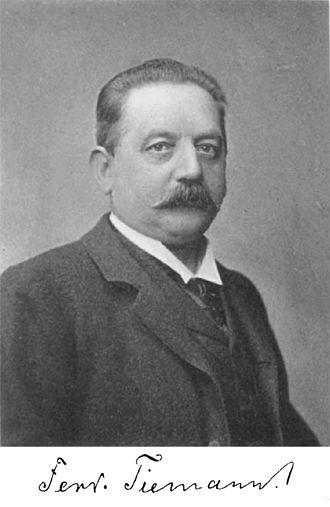 Ferdinand Tiemann - Image: F. Tiemann ca 1880